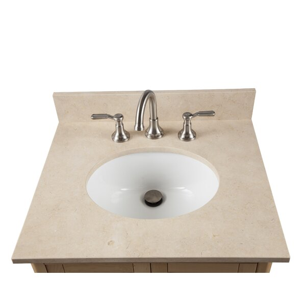 Bennett 25 Single Bathroom Vanity with Mirror and Shelf by Alaterre