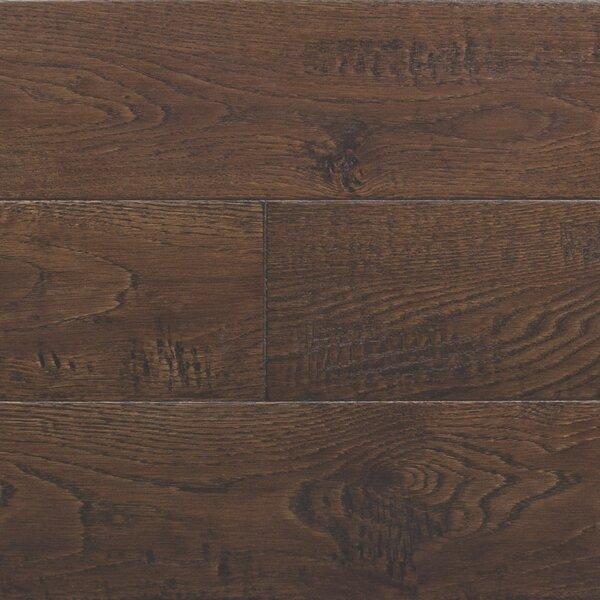 Random Width Engineered Oak Hardwood Flooring in Rustic Autumn by Somerset Floors