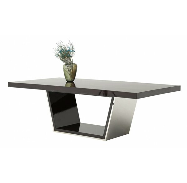 Clower Metal Top Dining Table by Orren Ellis Orren Ellis