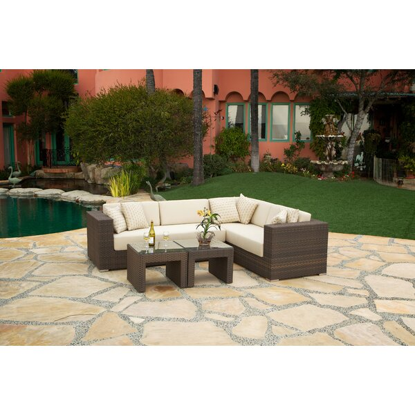 Mataro Sectional Seating Group with Cushions by Art Frame Direct