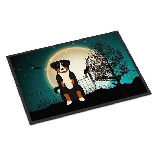 Halloween Scary Appenzeller Sennenhund Doormat by Caroline's Treasures
