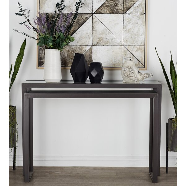 Console Table Set (Set of 2) by Cole & Grey