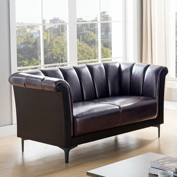 Monroy Loveseat by Wrought Studio