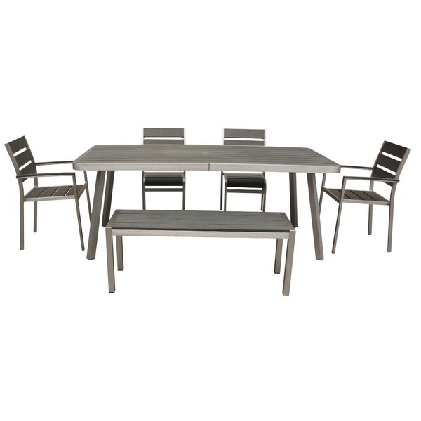 Lawrence 6 Piece Dining Set by Boraam Industries Inc