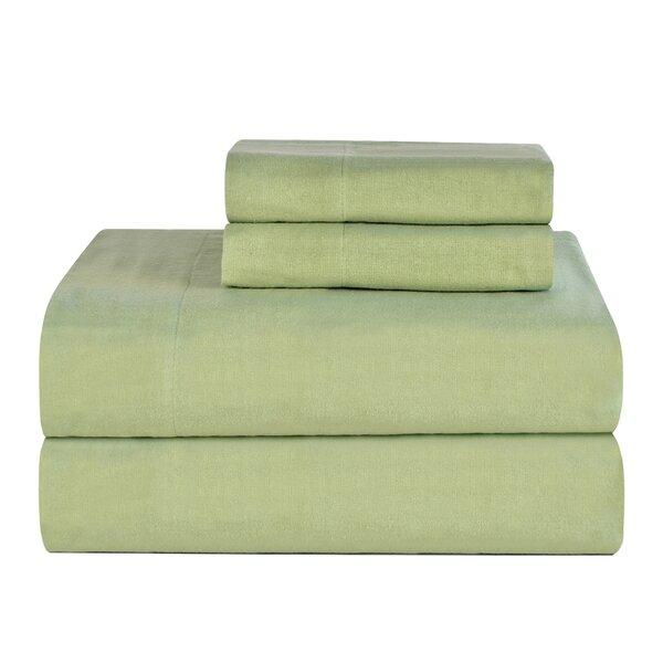 Celeste Home Ultra Soft Flannel Cotton Sheet Set by Celeste Home