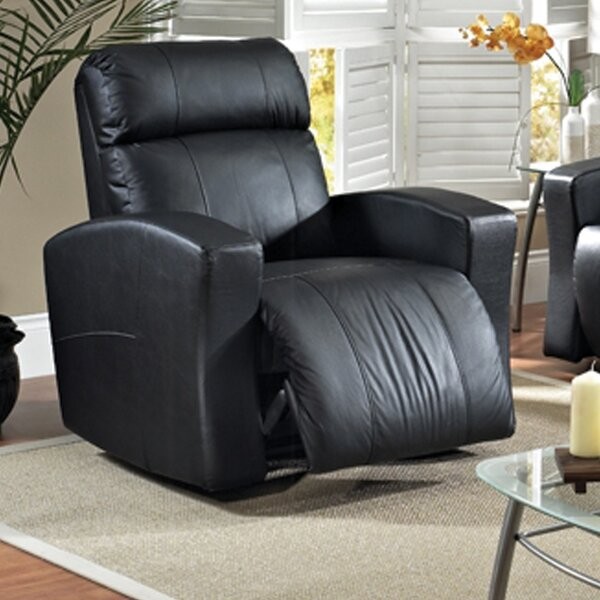 Vuelta Leather Power Rocker Recliner by Relaxon