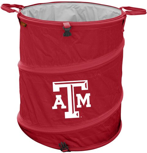Collegiate Trash Can - Texas A and M by Logo Brands