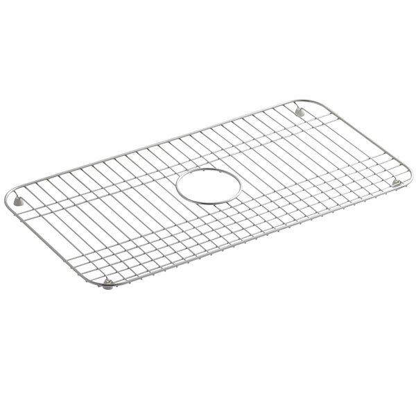 Bakersfield Stainless Steel Sink Rack, 25 x 12-3/4 by Kohler