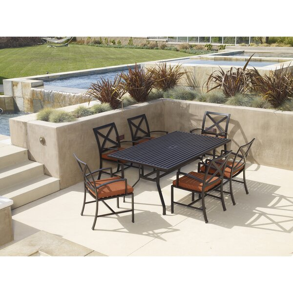 La Jolla Patio Dining Chair With Cushion By Sunset West