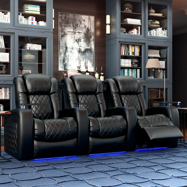 Continental HR Series Home Theater (Row Of 3) By Red Barrel Studio