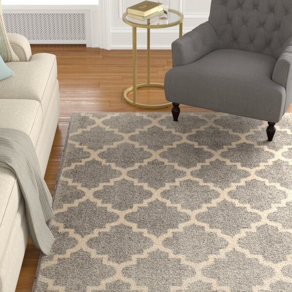 Decatur Gray/Ivory Area Rug by Darby Home Co