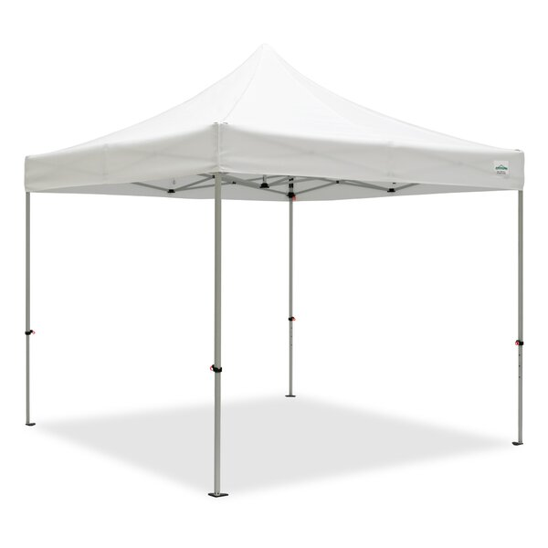 Aluma 10 Ft. W x 10 Ft. D Aluminum Pop-Up Canopy by Caravan Canopy