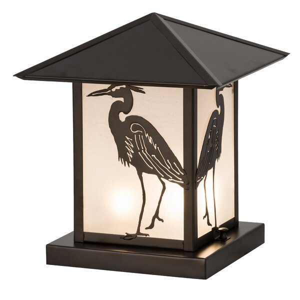 Lambeth Heron 2-Light Pier Mount Light by Bayou Breeze