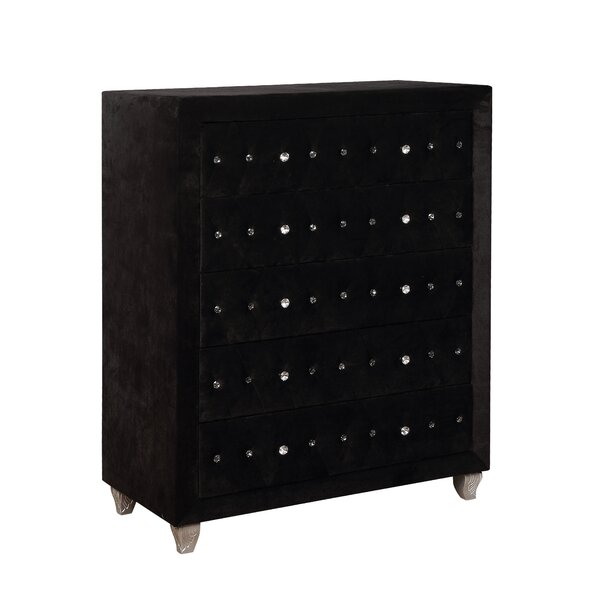 Mifley 5 Drawer Chest by Everly Quinn