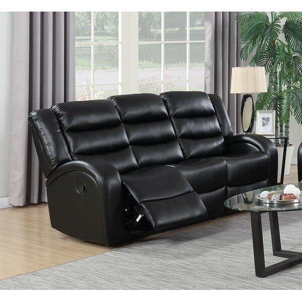 Swader Reclining Sofa by Winston Porter