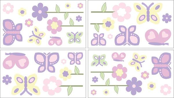 Butterfly Wall Decal by Sweet Jojo Designs