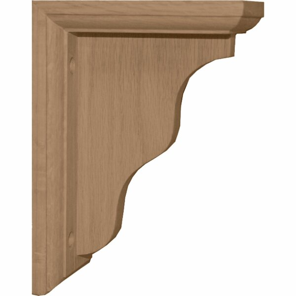 Hamilton 7H x 3W x 5D Traditional Bracket in Red Oak by Ekena Millwork