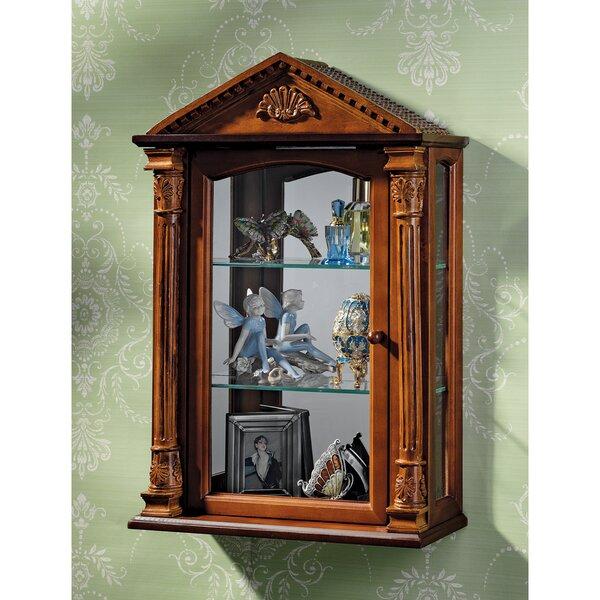 Essex Hall Wall-Mounted Curio Cabinet by Design Toscano Design Toscano