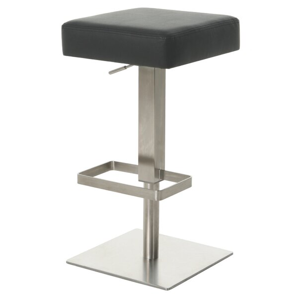 Kaohsiung Adjustable Height Swivel Bar Stool by Impacterra