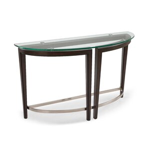 Heslin Demilune Console Table by Brayden Studio