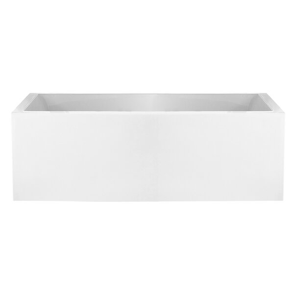 Moorepark 65.75 x 30.75 Freestanding Soaking Bathtub by Maykke
