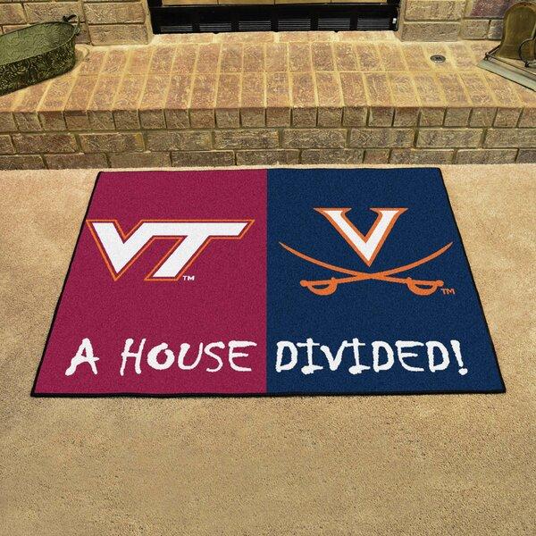 House Divided - Virginia Tech / Virginia Doormat by FANMATS