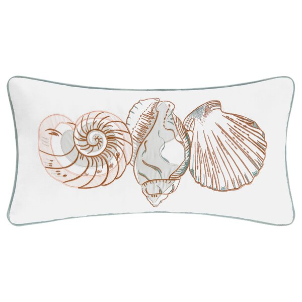Hahne Cotton Lumbar Pillow by Highland Dunes