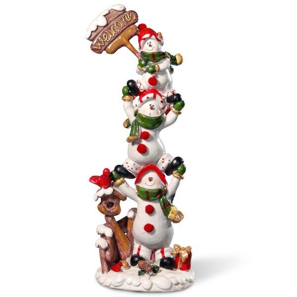 12 Snowmen Décor Figurine by The Holiday Aisle