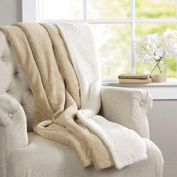 DuBois Throw Blanket by Three Posts