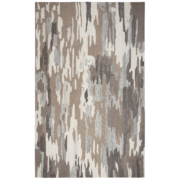 Grunin Hand-Tufted Brown Area Rug by 17 Stories