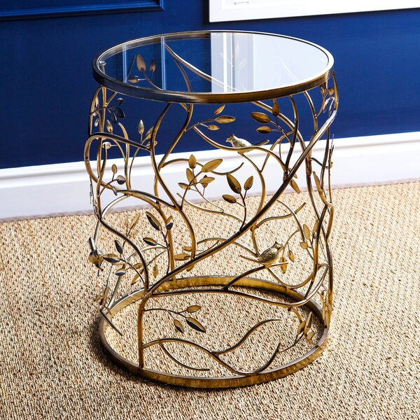 Ryad End Table by Bungalow Rose
