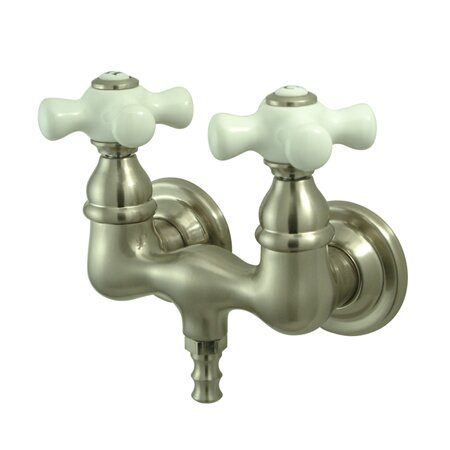Vintage Wall Mount Clawfoot Tub Faucet by Kingston Brass