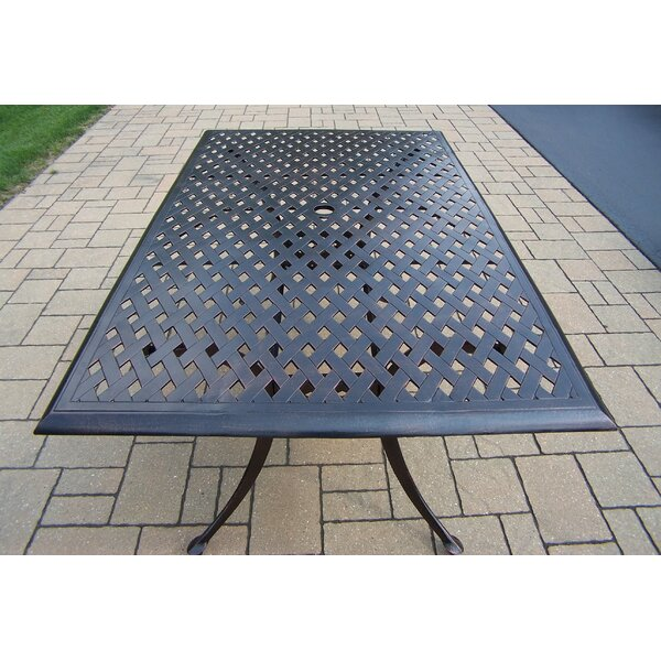 Louise Metal Dining Table By Astoria Grand