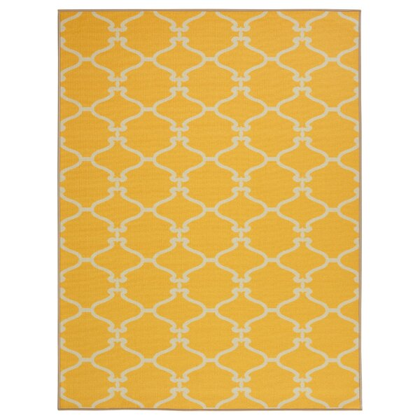 Clifton Yellow Area Rug by sweet home stores