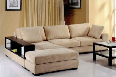 Sectional with Ottoman by Hokku Designs