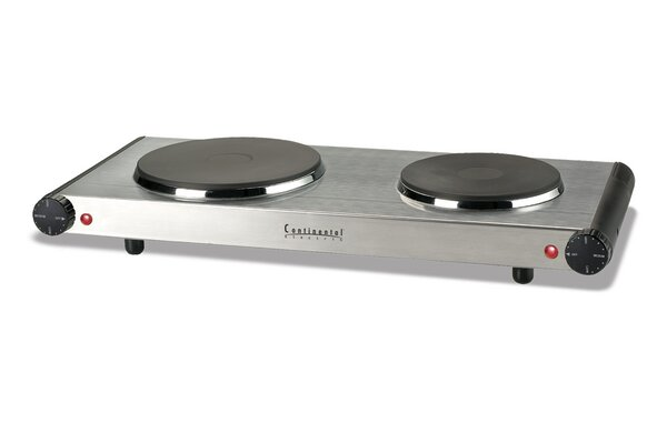 Electric Double Burner by CE North America