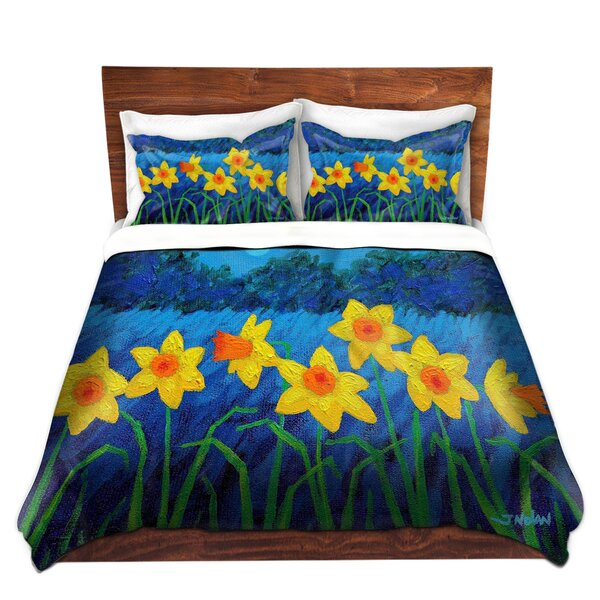 Moonlit Daffodils Duvet Cover Set