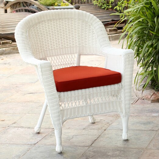 Lounge Chair with Cushion (Set of 4) by Wicker Lane Wicker Lane