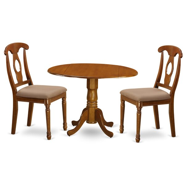 Spruill 3 Piece Dining Set by August Grove