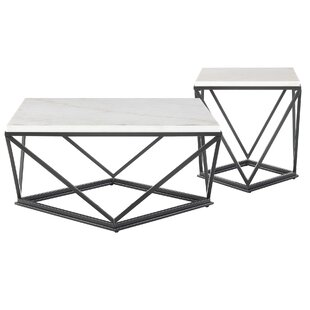 Savings Aledo 2 Piece Coffee Table Set By Ivy Bronx