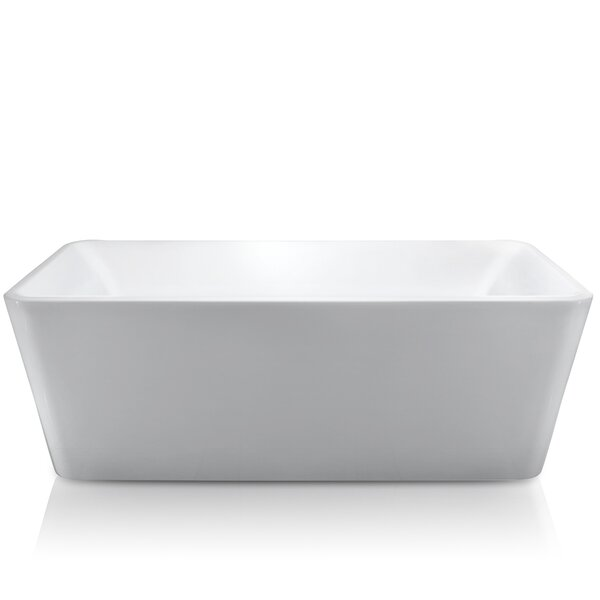66.93 x 33.46 Soaking Bathtub by AKDY