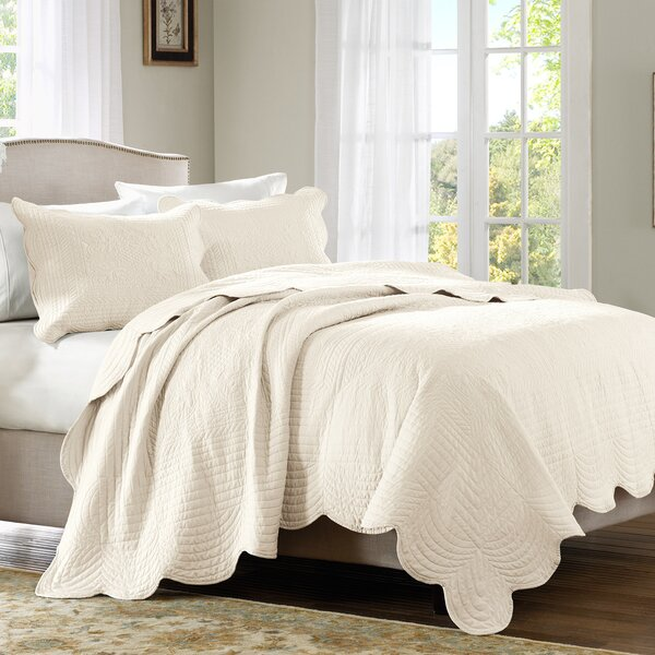 Stancil 3 Piece Coverlet Set by Lark Manor