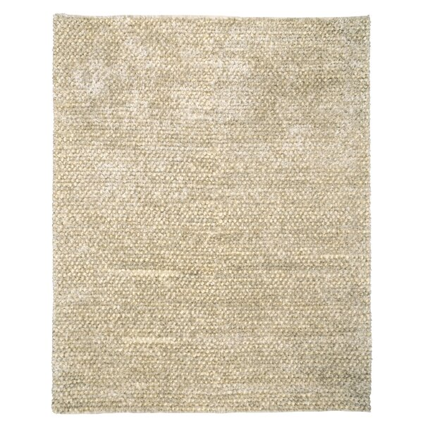 Caillou Shag Ivory Pebble Area Rug by Kosas Home