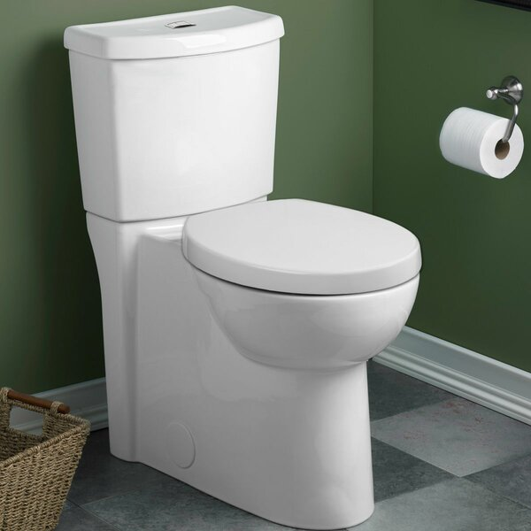 Studio 1.6 GPF Round Two-Piece Toilet by American Standard