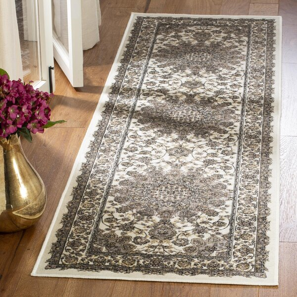 Carolus Ivory Area Rug by Darby Home Co