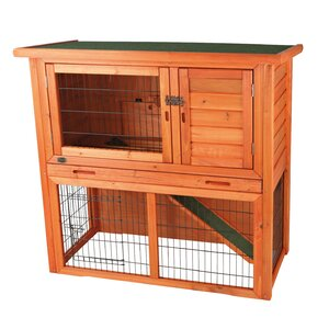 Lowrey Animal Hutch with Sloped Roof