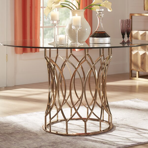 Paramount Dining Table by House of Hampton