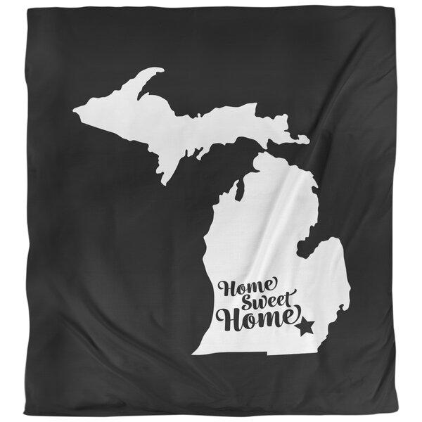 Ann Arbor Home Sweet Single Duvet Cover