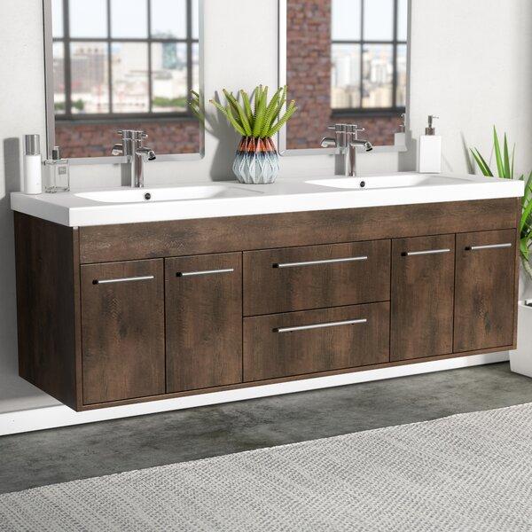 Zuzanna 60 Modern Double Bathroom Vanity Set by Orren Ellis