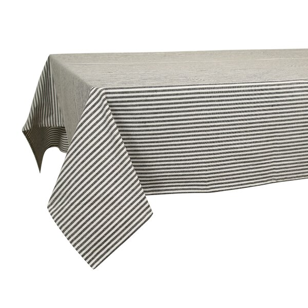 Humphreys Stripes Cotton Tablecloth by Laurel Foundry Modern Farmhouse